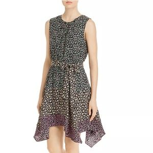 Rebecca Taylor Dresses - Rebecca Taylor Louisa Sleeveless Floral Mix-Print